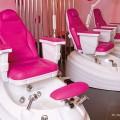 Педикюрное кресло с гидромассажной ванной PEDI SPA С